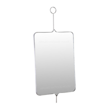 Nordic Shinny Stainless steel + Mirror 64*3*142cm dressing room mirror