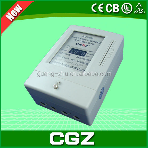 2015 SAFETY QUALITY PREPAID ELECTRICITY METER