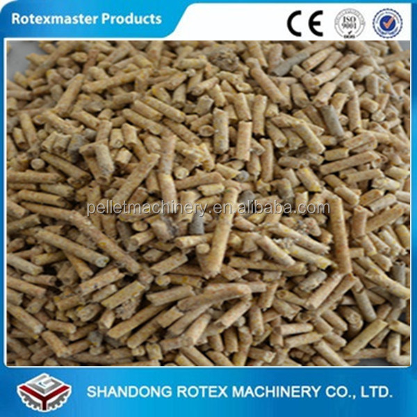 [ROTEX MASTER] Small Capacity high quality and low price rice bran pellet making machine