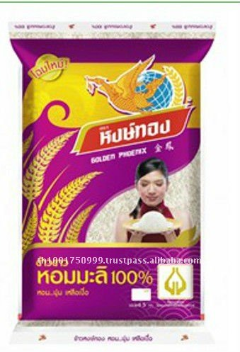 Thailand Long Slender Grain Hom Mali Rice 100%
