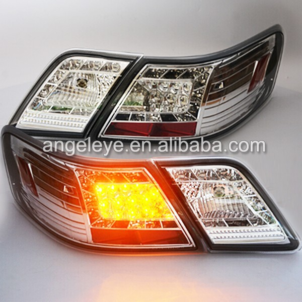 For TOYOTA Camry LED Tail Lights 2007-2009 year Chrome Housing SN