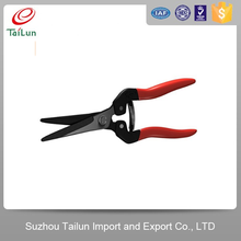 50# Steel High Quality Different Types Of Vegetable Cutting Scissors With PVC Grip Handle