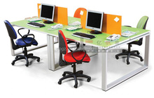 Office Computer Desk Workstation for 4 Persons