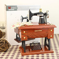 Sewing machine shape music box for Christmas gift item