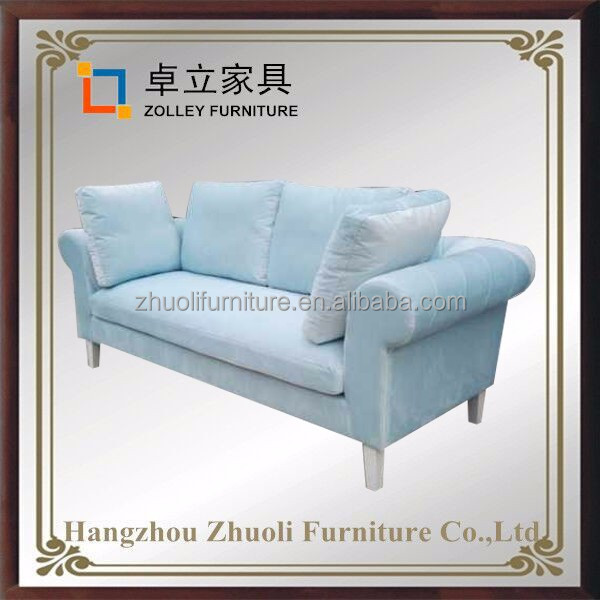 American Style Regional Style and Living Room velvet Sofa Specific Use night club furniture