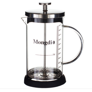 350ML 600ML Tea Borosilicate Glass French Press Coffee Maker