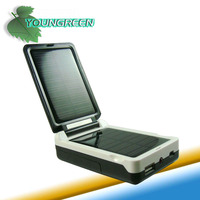 Solar USB Charger AA Battery Charger with Battery Tester