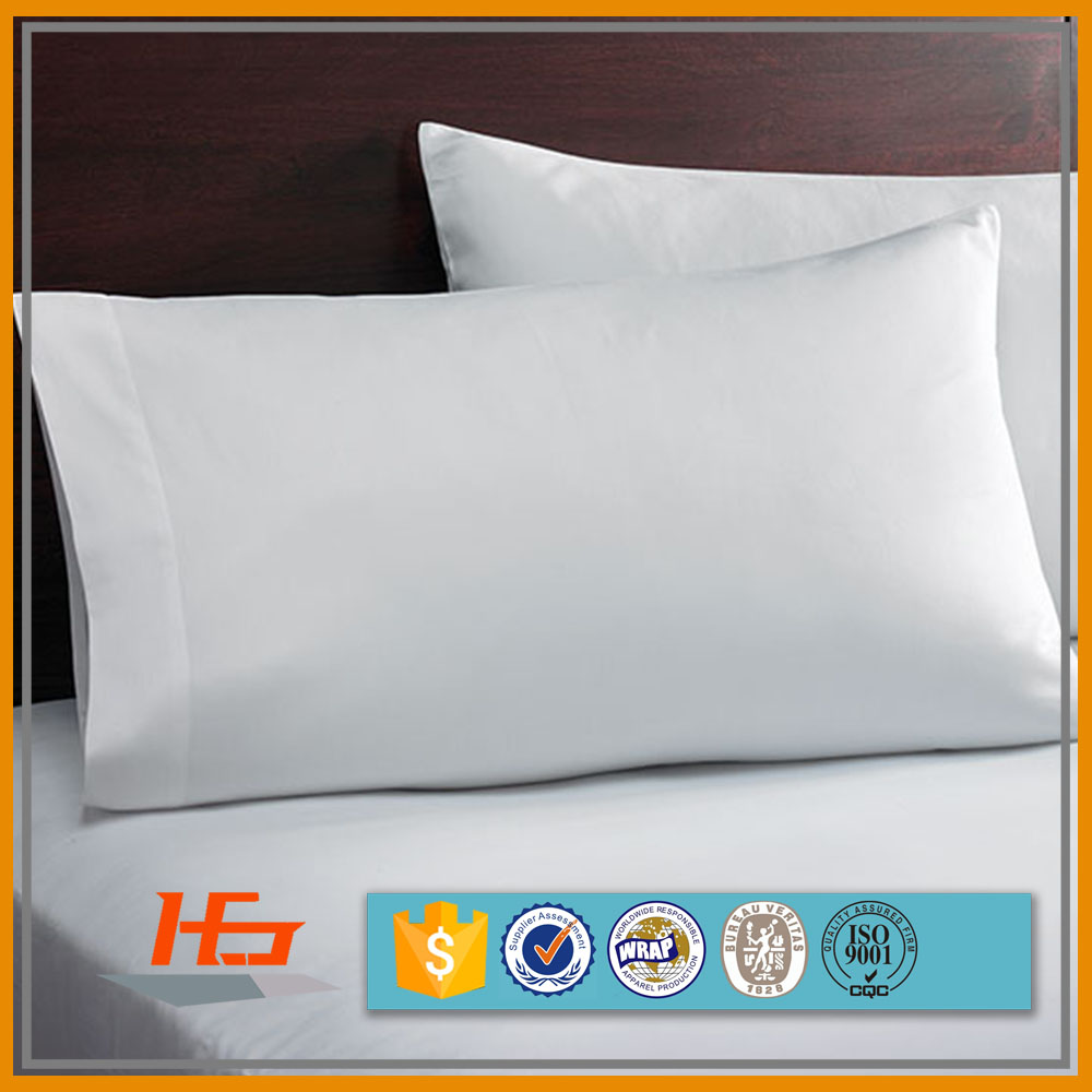 cheap polyester cotton fabric king size blank Cushion pillowcase