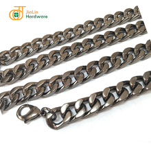 Detachable metal handbag chain for bags, purses and bag accessories