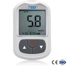 ISO approval Medical blood glucometer,glucose meter in one set ,with manufactur price