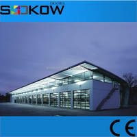 aluminum garage door/insulated glass overhead garage doors/sectional garage door glass panel