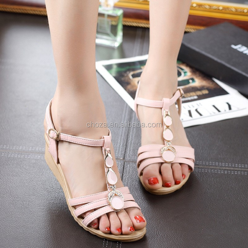 C64965A newest diamond female sandals for ladies