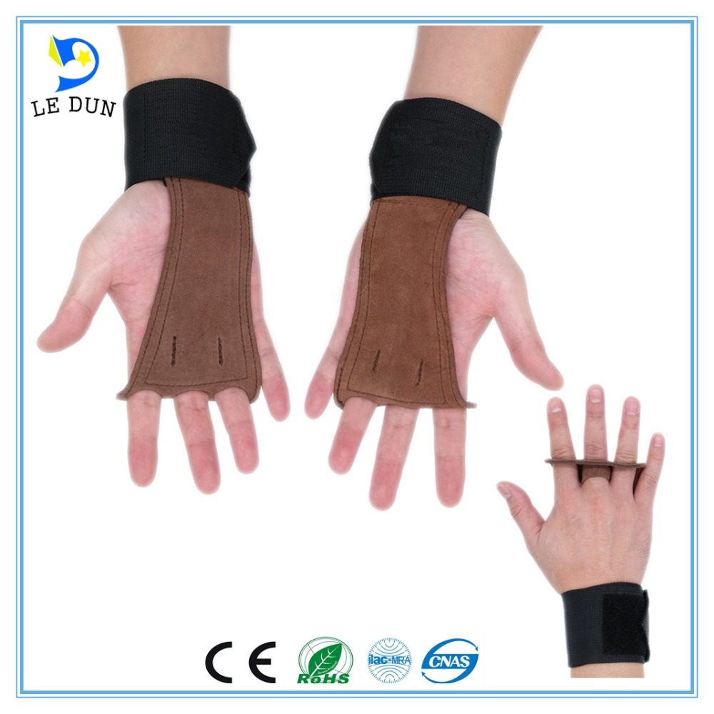 Best Grip Weight Lifting Gloves gym strength training leather fitness glove