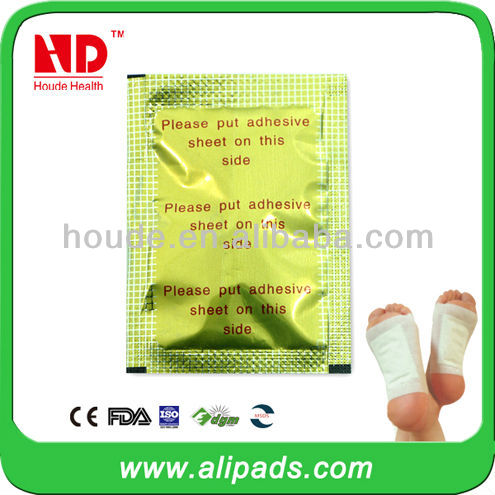 bamboo slimming gold medical foot patch