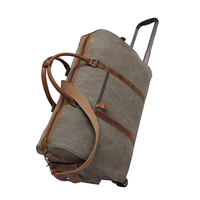 YD-2309 Hiking Camping outdoor weekend travel canvas duffle trolley bag