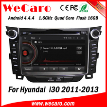 Wecaro WC-HI7028 Android 4.4.4 car stereo 2 din for hyundai i30 navigation radio gps 2011-2013