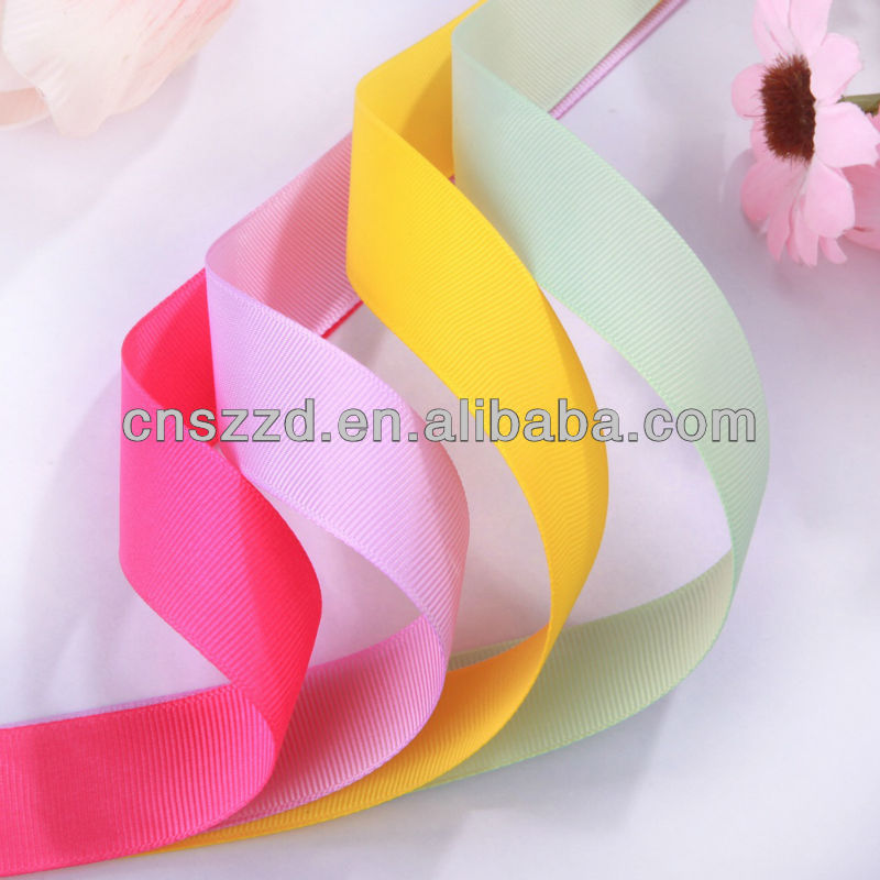 printed wholesale grosgrain ribbons