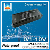 0-10v dimming IP67 waterproof 1800mA LED driver 100w