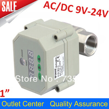 1/2'' 1'' 1 1/2 '' 2'' les steel Timer Controlled electric motorized valve,Low pressure ball valve