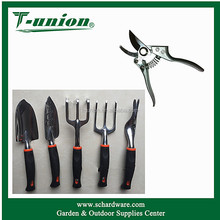 2017 New Combination 5Pcs Yard Hand Tool Sets With Pruning Shear