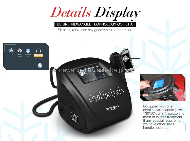 2018 fat freezing portable cryolipolysis machine for body shape home use
