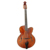 yunzhi electric Archaizeed color fully handmade volin style Archtop guitar
