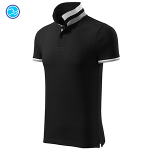 China wholesale promotional 65%cotton 35%polyester brand polo shirt for man