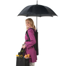 New design hand free rain backpack umbrella for travel