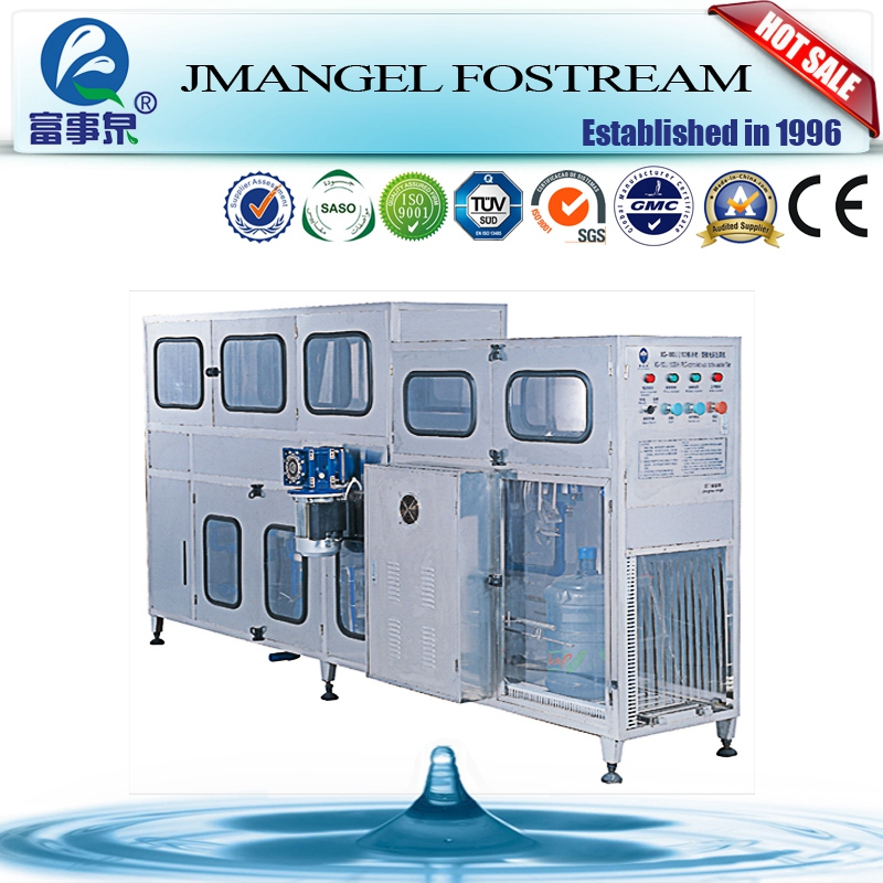 Factory price machine automatic 100bph-2000bph energy saving 5 gallon bottle washer