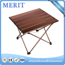 Quality Warrantee Different Colors Camping Picnic Brown Large Folding Table