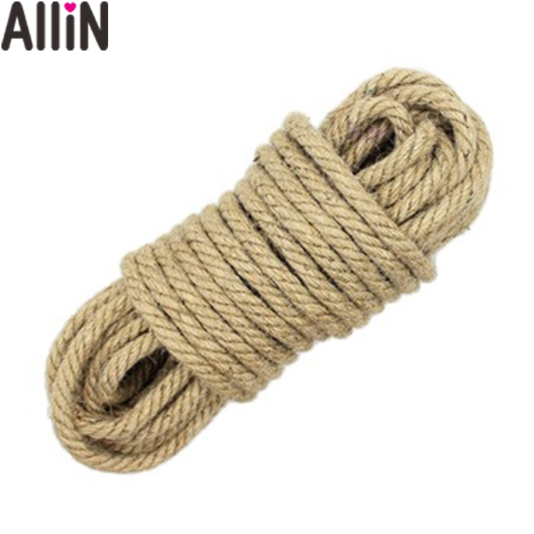 100% real photo 10M Hemp Sex Rope Tied Rope Bondage Comfortable Sex Toy For Couple Game Sex Products