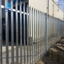 Hot sale China supplier electric galvanized wholesale Euro palisade fence