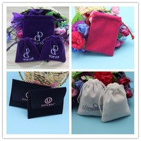 New style best sell velvet pouch bag for ipad