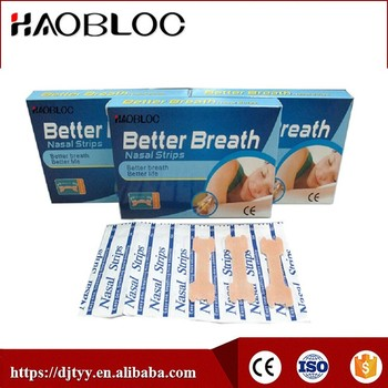 Snoring Function Strip, Nose Pads/Reduce Dyspnoea Sticker for Respiratory Problems, Easy Stick