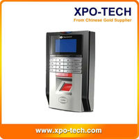 Fingerprint and RFID Time Attendance and Access Controller(Support 4 language)