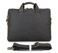 7167R JMD Unique Leather Vintage Portfolio for Men Genuine Leather Briefcases Dispatch Case