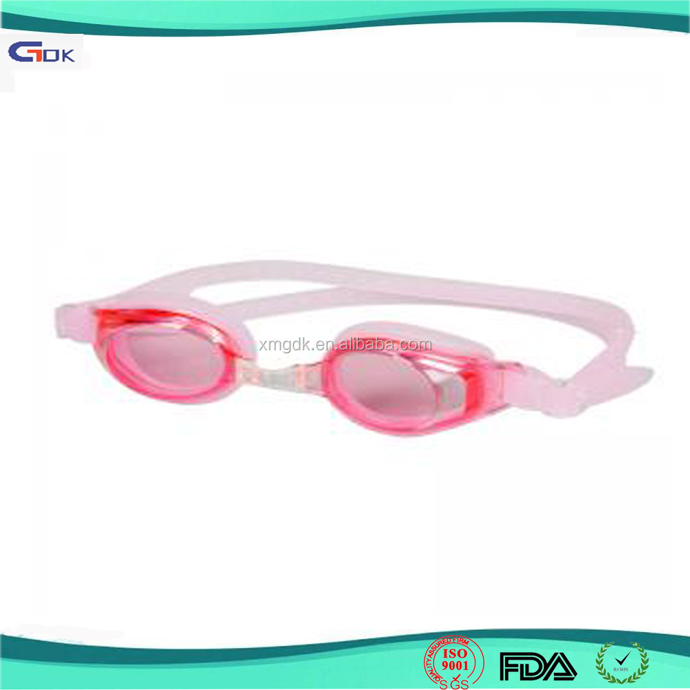 Custom advanced cute fun silicone swimming glasses goggles