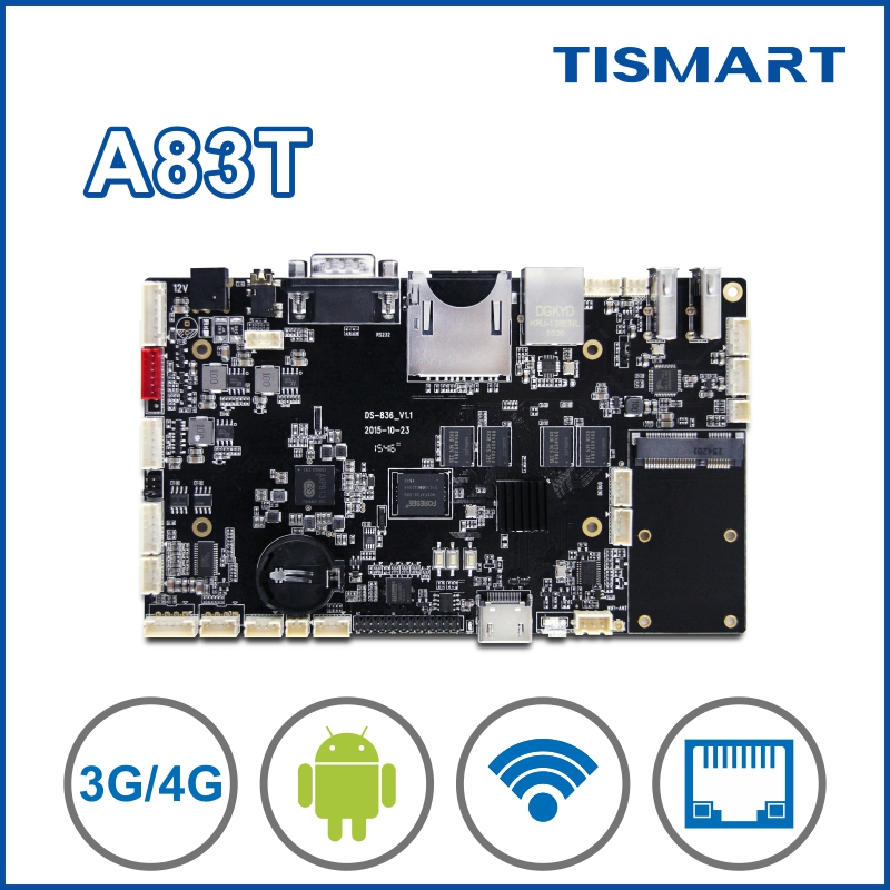 Alibaba wholesale digital signage board arm development board android 4.4/6.0 for ads player TV