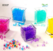 Factory Supplier Fashion Vase Water Beads Crystal Soil For Plant Gel Beads
