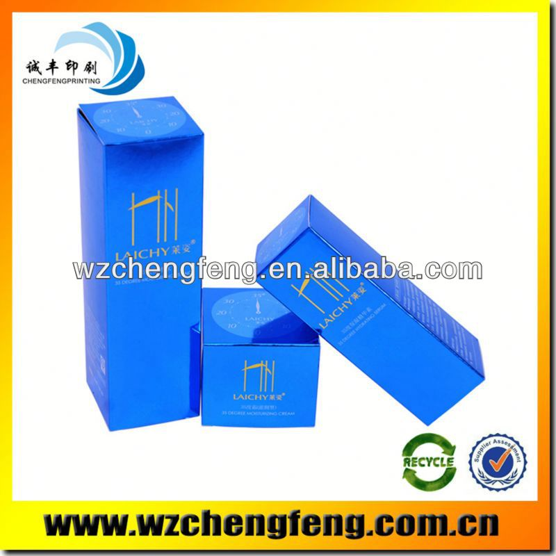 salt water chlorinator packaging box blue printing paper box