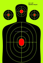 The Ultimate Reactive Splatter Targets For Shooting 10 pack 25 pack 50 pack 12 x 18 inches