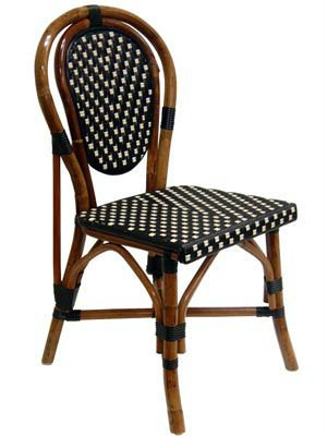 French Bistro Chairs Rattan For Cafe USE