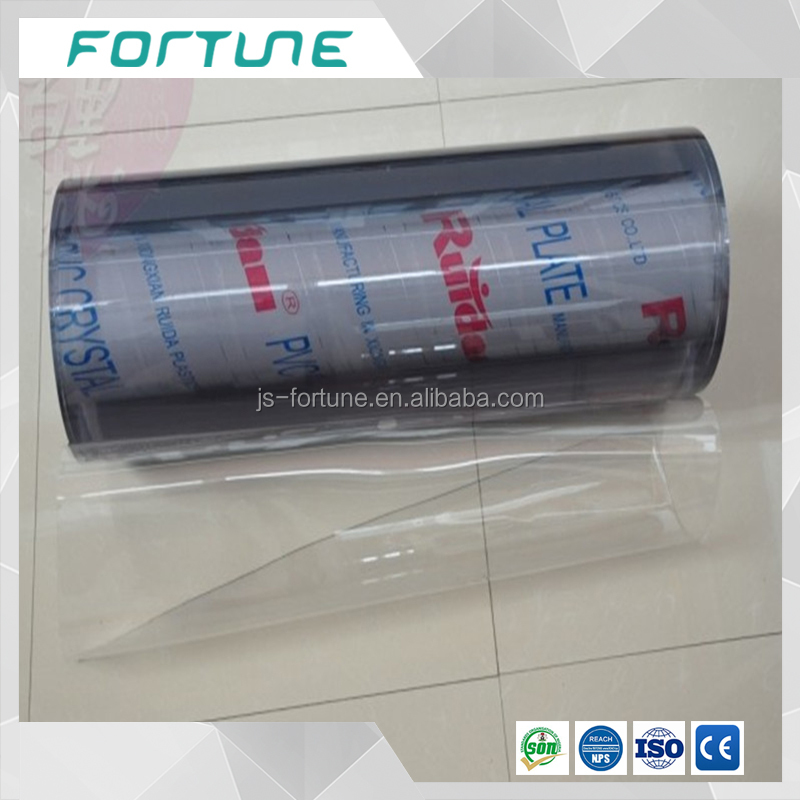 UV resistant plastic flexible film pvc super clear film