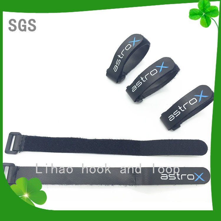 cutsom nylon material cable ties /battery strap printing your logo