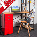 Metal Office Furniture Helmer 6 Drawers Filing Storage Cabinet