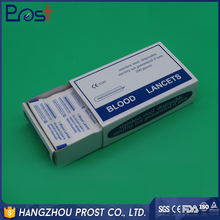 Low Price Stainless Steel Disposable Medical Safety Blood Lancet