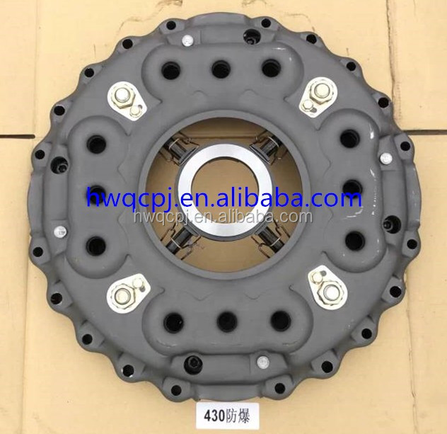 Truck parts clutch pressure plate lever cover driven assembly