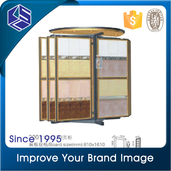 Hot sale floor tiles display racks ceramics display stands for sale