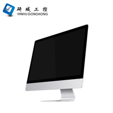 Hot selling assembled cheaper desktop computer OEM all-in-one computer PC with 4* USB2.0,1* RTL8111E lan port