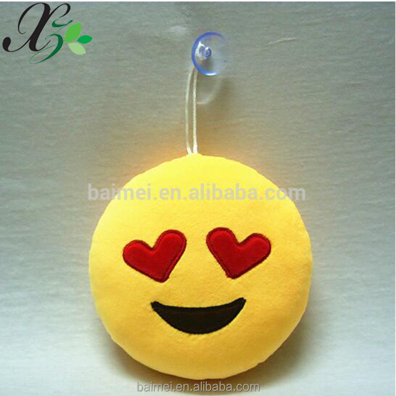 Smart And Cheap Emoji Plush Key Chain For Wholesale